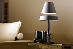 The floaing lamp