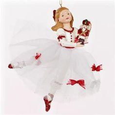 Clara in White Dress Ornament