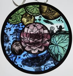 Mosaic Glass, Glass Art, Stained Glass Paint, Grisaille, Prints, Enamel, Inspiration, Painting, Ideas