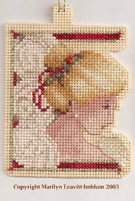 ~ 2003 Christmas Ornament ~ along with other free TIAG patterns done on perforated paper.