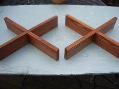 Solid oak speaker stands | Etsy