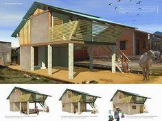 Casa sustentável para populações carentes - Framework House ~ ARQUITETANDO IDEIAS