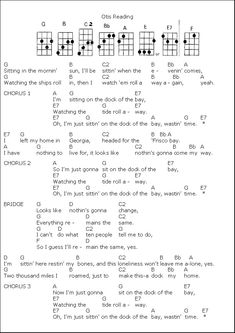 Helpful Tips to Learn Ukulele Guitar Chords For Songs, Music Chords, Guitar Sheet Music, Guitar Songs, Music Songs, Guitar Tabs, Uke Tabs, Recorder Music, Song Lyrics And Chords