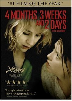 4 Months, 3 Weeks And 2 Days, 2007 Cannes Film Festival Awards Palme d'Or - Golden Palm winner, Directed by Cristian Mungiu (Romania) #CannesFestival #GoodMovies #Movies