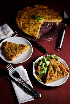 Spicy Potato Pie: Crustless and Gluten-Free with Vegetarian Option For Meatless Mondays   Spicie Foodie
