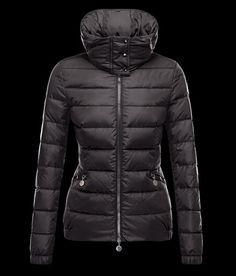 solde Moncler Doudoune SANGLIER Col Manteau Femme Noire avec flocage  Harrington Jacke, Fashion Tips, a1d8c549db73