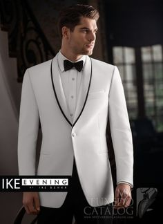 White 'Waverly' Tuxedo...tophattux.com  Maybe? Very southern.