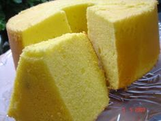 Recipe: Durian Chiffon Cake