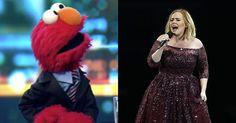 """Call Elmo!"" Elmo is super desperate to meet Adele and he's telling anyone who'll listen https://t.co/Y57vMqzqMD https://t.co/sjwjriYo3d"