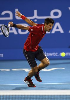 Novak Djokovic Photos - Mubadala World Tennis Championship: Day 2 - Zimbio