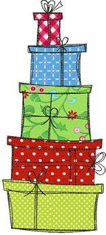 Christmas Doodles 13x18 - Stickbär