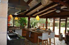 Summer Kitchen Idea In Majorca
