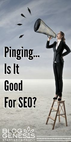Pinging is a way for you to electronically let search engines and other websites know, that you have new or revised content on your website.