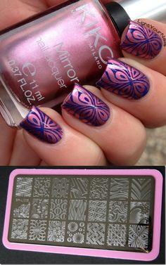 $5.99 Wave & Texture Patterns Nail Art Stamp Template Image Plate BORN PRETTY BP-L005 12.5 x 6.5cm - BornPrettyStore.com