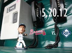Ready for the first bobblehead of the season? Kyle Farnsworth is. Be one of the first 10,000 kids 14 and under when the Rays host the Braves on Sunday May 20th and receive a Kyle Farnsworth bobblehead.