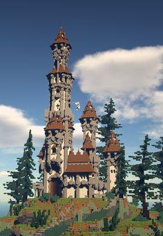 Minecraft Building Designs, Minecraft City Buildings, Minecraft House Plans, Minecraft Farm, Minecraft Castle, Minecraft Medieval, Cute Minecraft Houses, Minecraft Construction, Minecraft Architecture