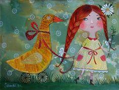 Белорусская художница Анна Силивончик - Ярмарка Мастеров - ручная работа, handmade