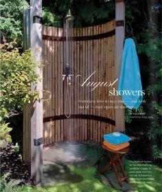 Seaview Garden- love the shower