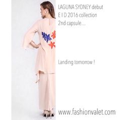 LAGUNA SYDNEY debut EID 2016 modest dressing 2nd capsule collection landing only on www.fashionvalet.com tomorrow 2nd June 2016 Hijab Muslimah summery floral pretty ladylike fashion retail RTW ONLINE OFFLINE FVRAYA2016
