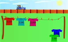Decimals - Place Value & Number lines Archives - Maths Zone Cool Learning Games Fractions Decimals And Percentages, Place Value With Decimals, Decimal Number, Ordering Numbers, Teaching Math, Teaching Ideas, School Games, Place Values, Numeracy