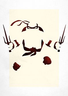 Teenage Mutant Ninja Turtles Minimalist Art Print Set