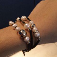 Pulcera de perlas