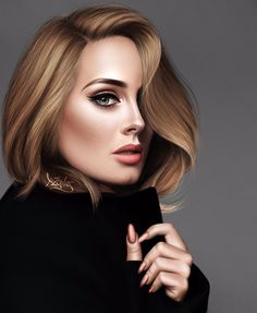 This doesn't look like a drawing but it is Adele Face, Adele Photos, Adele Pictures, Adele Adkins, Culture Pop, Celebrity Drawings, Portraits, Jolie Photo, Digital Portrait