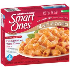 Weight Watchers Smart Ones Classic Favorites Mini Rigatoni with Vodka Cream Sauce, oz Inexpensive Meals, Easy Meals, Weight Watchers Smart Ones, Frozen Appetizers, Creamy Tomato Pasta, Vegetarian Pasta Dishes, Vodka Sauce, Healthy Menu, Snack Recipes