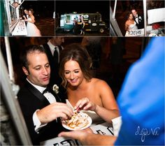 Unique Wedding Ideas | Non Traditional Wedding Cake | The Funnel Cake Truck | Deja Vu Photography | Kansas City Wedding Photographer