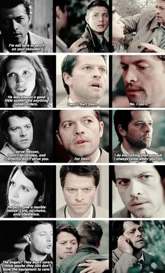 You made an exception for me. You're different. #spn #destiel