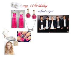"""""""my 14 birthday"""" by styleshoranpaynetomlinson ❤ liked on Polyvore featuring beauty, Caparros, Aéropostale, Betsey Johnson and amika"""
