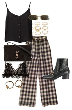 """""""Untitled #11636"""" by nikka-phillips ❤ liked on Polyvore featuring Forever 21, STELLA McCARTNEY, Yves Saint Laurent, Tom Ford and Isabel Marant"""