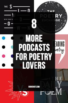 8 Poetry Podcasts You'll Definitely Want to Listen to This Month | Poetry Podcast | Podcasts for Readers | Poems