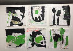 Mischtechnik Acryl Collage 6/6 Pia Danner