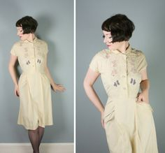 A nice vintage dress for casual wear