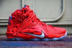 "Nike LeBron 12 ""Independence Day"" (4th of July)"