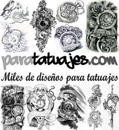 Relojes para tatuajes  Para Tatuajes