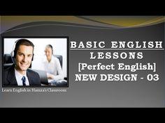 Basic English Lessons - [ Perfect English ] - New Design - 03