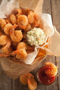 Fried Shrimp ~ Paula Deen