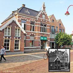Dit was het oude Postkantoor wat nu een andere bestemming heeft gekregen.      Vriezenveen.
