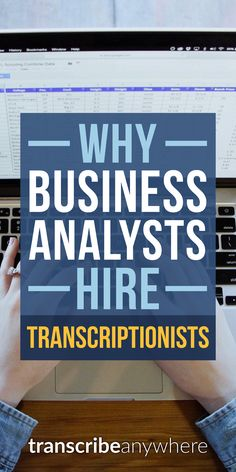More and more businesses are hiring transcriptionists for their online content. You can work from home AND make money!