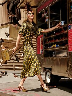 Hilary Rhoda, Anais Mali by Giampaolo Sgura for Allure US September 2015