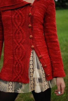 Ravelry: Revere House pattern by Kirsten Kapur. Oh how I love this sweater, let me count the ways...