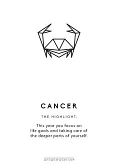 Happy 2017, Cancer! This year you focus on life goals and taking care of the deeper parts of yourself. You are often considered sensitive in your nature, so even as you are taking over the world,...