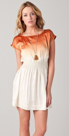 club monaco dress.  I would like this with a different colour like a light blue or purple on top