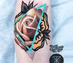Perfect 3 colors abstract tattoo artworks of Rose motive done by tattoo artist Chris Rigoni Old Tattoos, Body Art Tattoos, Tribal Tattoos, Sleeve Tattoos, Tatoos, Tattoo Magazine, Inked Magazine, Traditional Tattoo Art, Tattoo Graphic
