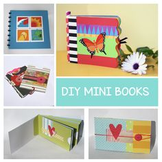 Are your photos sitting in your phone or on your computer? It might be a good time to print out a handful (or more) of your favorites and feature them in a handmade mini book. Visit www.sandigenovese.com for these ideas and so much more.  #minibooks #diyhandmade
