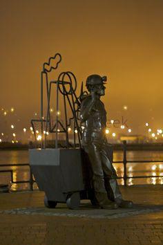 Cardiff Bay miner, f