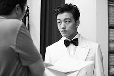 BTS SHOTS OF YEO JIN GOO'S GQ PICTORIAL