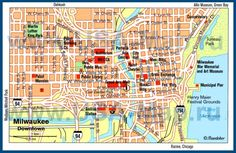 Pittsburgh Downtown Map Tourist Attractions Pittsburgh